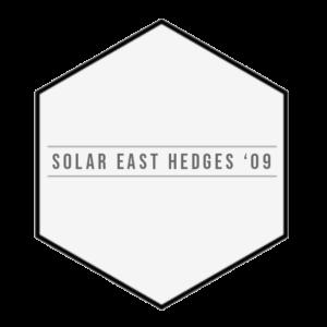 Solar East Hedges '09