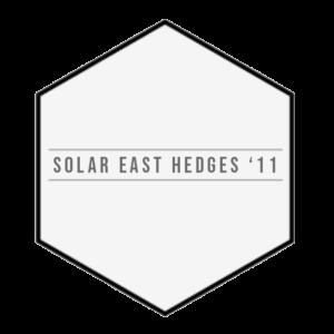 Solar East Hedges '11